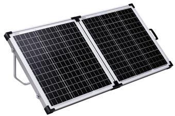 Acemor 120W Folding Solar Panel Kit 12V Mono Camping Caravan Charging Power Battery USB