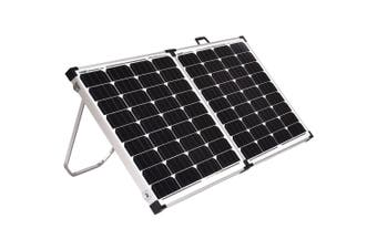 Acemor 300W Folding Solar Panel Kit 12V Mono Camping Caravan Power Battery USB