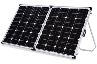 Acemor 250W Folding Solar Panel Kit 12V Mono Camping Caravan Boat Charging Power Battery Usb