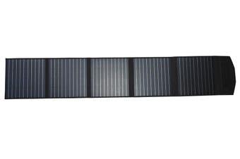 Acemor 200W Folding Solar Panel Blanket Kit 12V Mono Power Battery Mat Camping Caravan Boat Charging Usb
