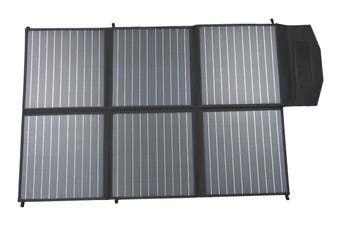 Acemor 250W Folding Solar Panel Blanket Kit 12V Mono Power Battery Mat Camping Caravan Boat Charging Usb