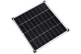 Acemor 12V 120W Flat Solar Panel Kit Mono Camping Caravan Boat Charging Power Battery 120 Watt