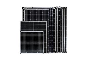 Acemor 12V 340W Solar Panel Kit Mono Camping Caravan Charging Power Battery USB