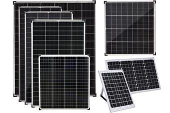 Acemor 12V 40W Solar Panel Kit Mono Power Camping Caravan Battery Charge USB