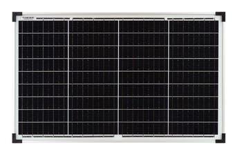 12V 40W Solar Panel Kit Caravan Camping Power Portable Battery Charging Ultralight Grade A Glass Monocrystalline