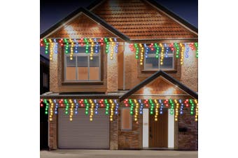 Stockholm Christmas String Lights 960 LEDs Snowing Curtain Icicle Outdoor Garden Decor 23M