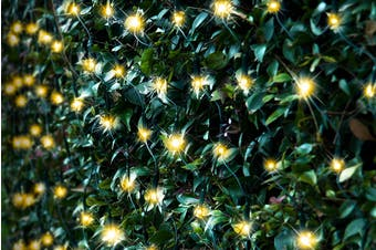 Stockholm Christmas Lights 300 LEDs Solar String Net Outdoor Garden Xmas Decor 5 x 1.3M