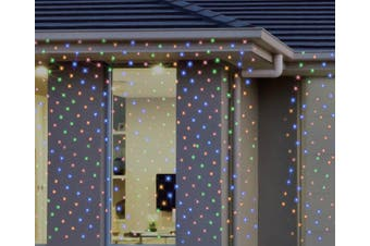 Stockholm Christmas Lights 300 LEDs Waterfall Curtain Net Outdoor Garden Xmas Decoration 2x3M