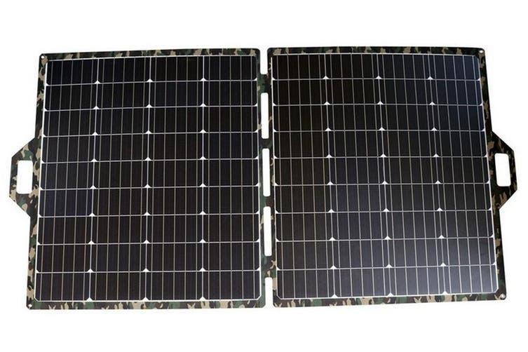 Acemor ETFE 250W Folding Solar Panel Blanket Kit Mono Camping Battery Charger