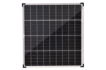 Acemor 12V 80W Solar Panel Kit Mono Power Camping Caravan Battery Charge USB