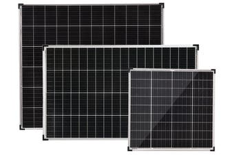 Acemor 12V 100W Solar Panel Kit Mono Power Camping Caravan Battery Charge USB