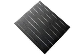 Acemor 20W 18V Flexible Mono Solar Panel Frameless Light Weight Battery Charger