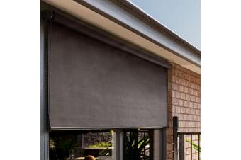 Heavy Duty Outdoor Sunscreen Roller Blind (Earth)