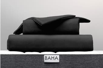BAHA Premium 500TC Sheet Set (Charcoal)