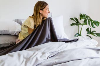 BAHA Quilt Cover (Light Grey)