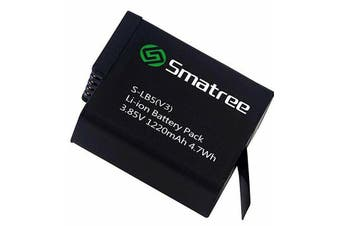 Smatree Battery (1-Pack) for Gopro Hero 6 Black (Compatible with all newest firmware)