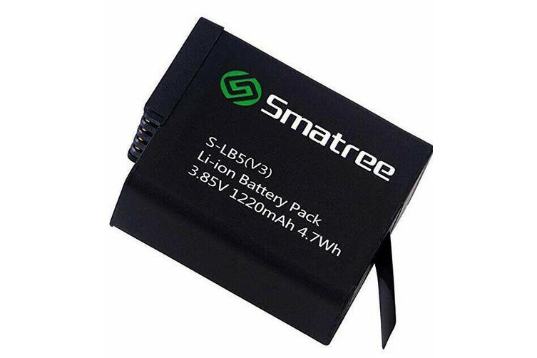 Smatree Battery (1-Pack) for Gopro Hero 7 Black (Compatible with all newest firmware)