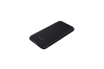 AUKEY 10000mAh Dual USB Port Slim External Battery Power Bank Portable Charger
