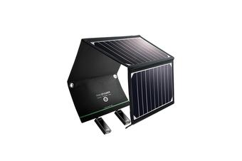RAVPower 16W Solar Panel 2 USB Port Solar Portable Charger Waterproof Foldable