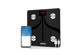 RENPHO Body Fat Scale Weight Bathroom Smart Digital Bluetooth USB Rechargeable