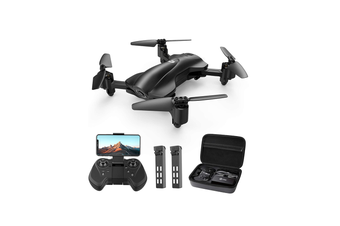 Holy Stone HS165 Fordable FPV Camera 1080p HD RC Drone [2 Batteries+Carry Case]