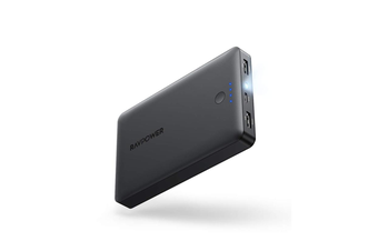 RAVPower 16750mAh 4.5A 2 USB port External Battery Power Bank Portable Charger