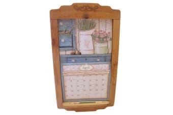2021 Lang Legacy Calendar PINE FLIP FRAME Wooden New Display your Calender