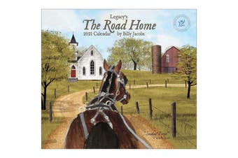 Legacy 2021 Calendar THE ROAD HOME Calender Fits Lang Wall Frame
