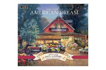 Lang 2021 Calendar AMERICAN DREAM Calender Fits Wall Frame