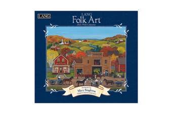 Lang 2021 Calendar FOLK ART Calender Fits Wall Hanging Frame