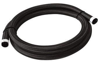 """Aeroflow 111 Series Black Braided Cover.67-.83"""" 17-21mm 4.5 Metres AF111-021-4.5MBK"""