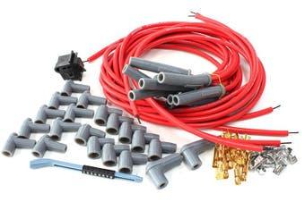 Aeroflow Lead Set Univ Red Multi V8 Str Plug Ends Std & Hei AF4530-31199