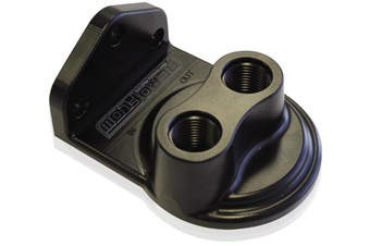 "Aeroflow Remote Filter Head Top Entry -8 Orb Ports 3/4"" Filter Threa AF64-2075"
