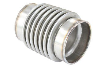 """Aeroflow 2"""" O.D Exhaust Flex Pipe Joint 4"""" Long 304 Stainless Steel AF9500-2000"""
