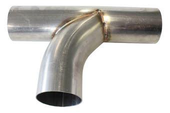 "Aeroflow 304 S/S T Pipe 2-1/2"" Radiusradius Flow Bends 2-1/2"" O.D AF9577-2500"