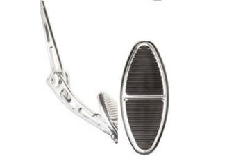 Billet Specialties Gas Pedal Ovalshape Black BS199135