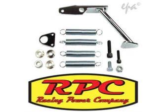 RPC Chrome Steel Carburettor Mount Throttle Return Kit RPCR2083