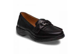 Dr Comfort Mallory Women's Shoes Black - Wide 10.5