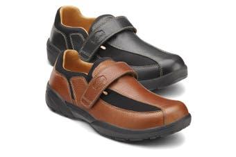 Dr Comfort Douglas Men's Shoes Chestnut