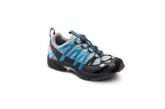 Dr Comfort Performance Men's Shoes Metallic Blue