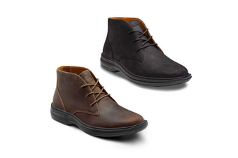 Dr Comfort Ruk (Leather) Men's Shoes Brown