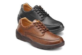 Dr Comfort Stallion Men's Shoes Black - Wide 10.5
