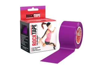 Rocktape Plain Rolls - 5m x 5cm - Purple