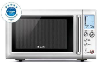 Breville 900W Quick Touch Grill Inverter Microwave Oven BMO700BSS