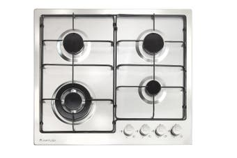 Artusi 60cm Stainless Steel Gas Cooktop CAGH1