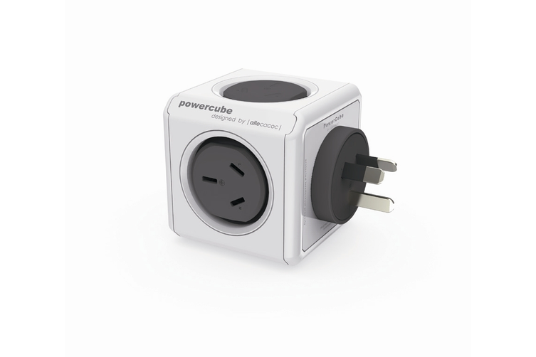 ALLOCACOC POWERCUBE Original with 2 USB Plug - Green