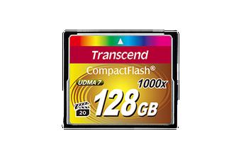 Transcend 128GB 1000x Compact Flash Card (Premium)