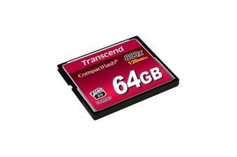 Transcend 64GB 800x Compact Flash (Premium)