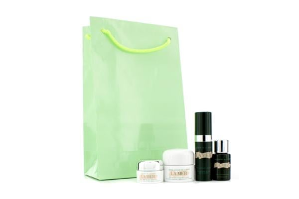 View more of the La Mer Travel Set: Soft Cream 7ml + Radiant Serum 5ml + Concentrate 5ml + Eye Balm Intense 3ml (4pcs)