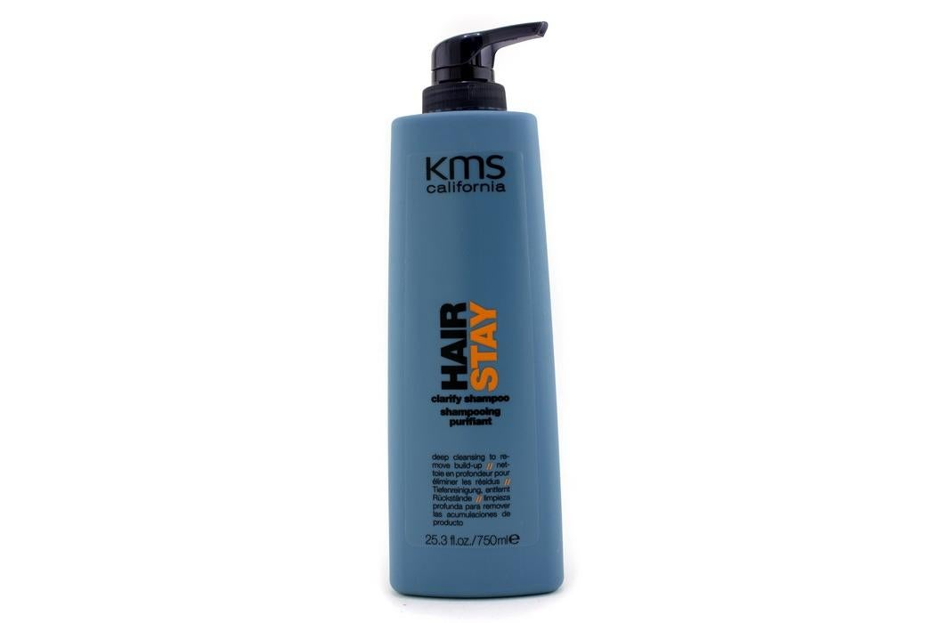 KMS California Hair Stay Clarify Shampoo (Deep Cleansing To Remove Build-Up) (750ml/25.3oz)